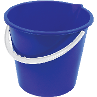 Plastic Blue Bucket Png Image Download PNG Image - Bucket PNG