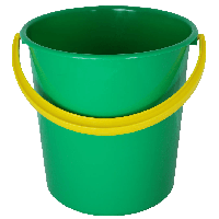 Plastic Green Bucket Png Image PNG Image - Bucket PNG