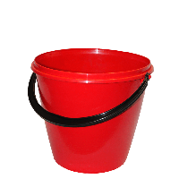 Plastic Red Bucket Png Image PNG Image - Bucket PNG