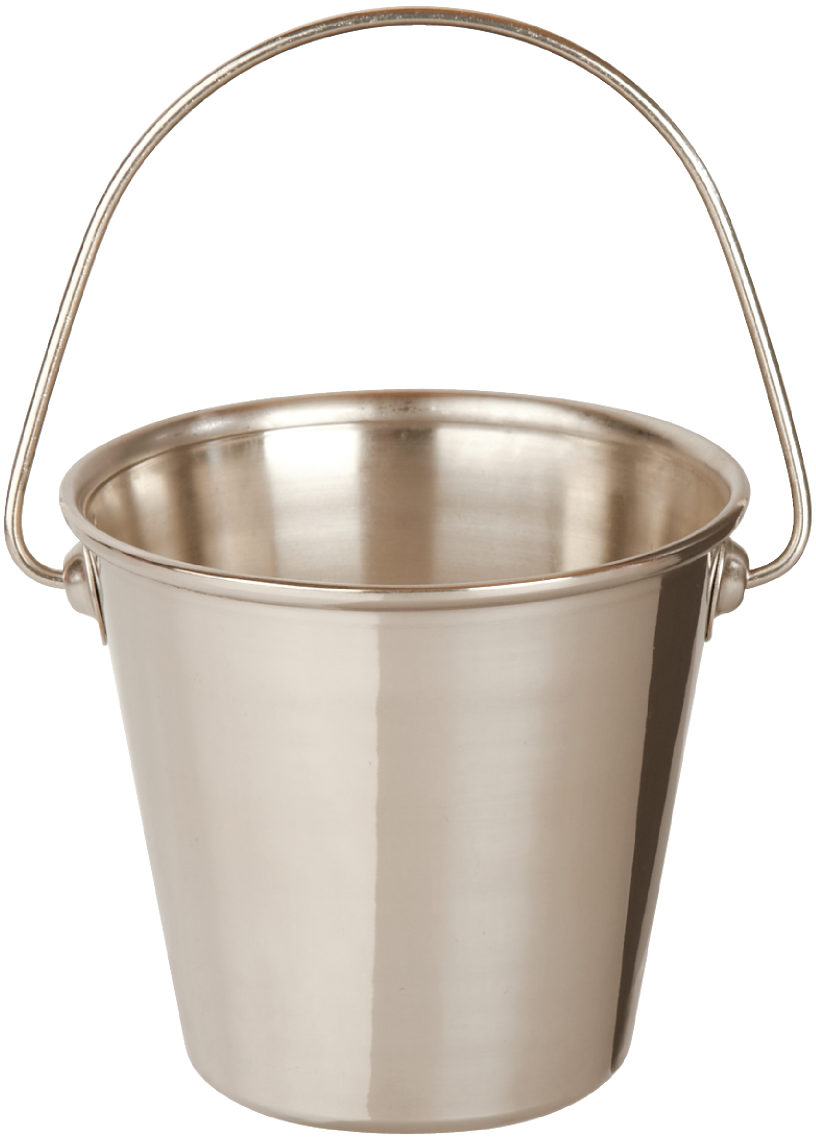 PNG File Name: Metal Bucket PlusPng.com  - Bucket PNG