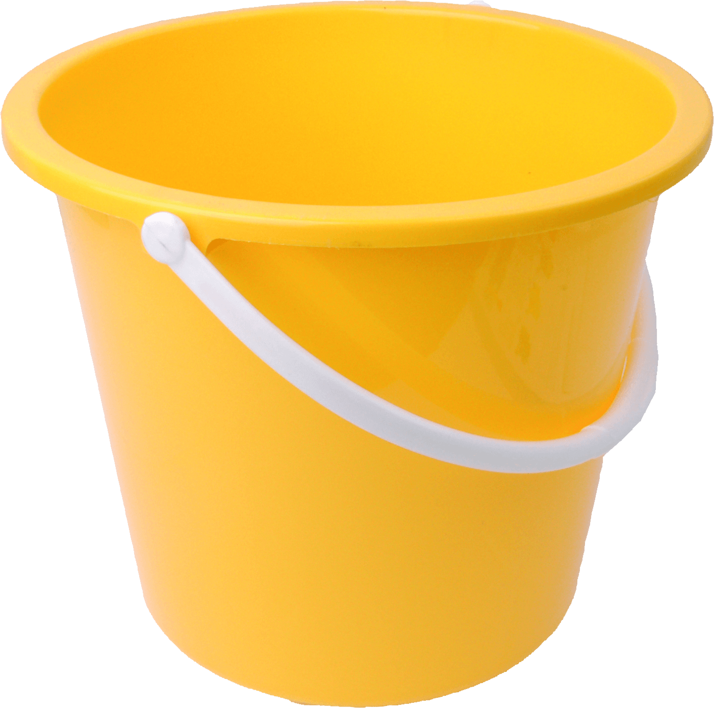 Yellow Bucket - Bucket PNG