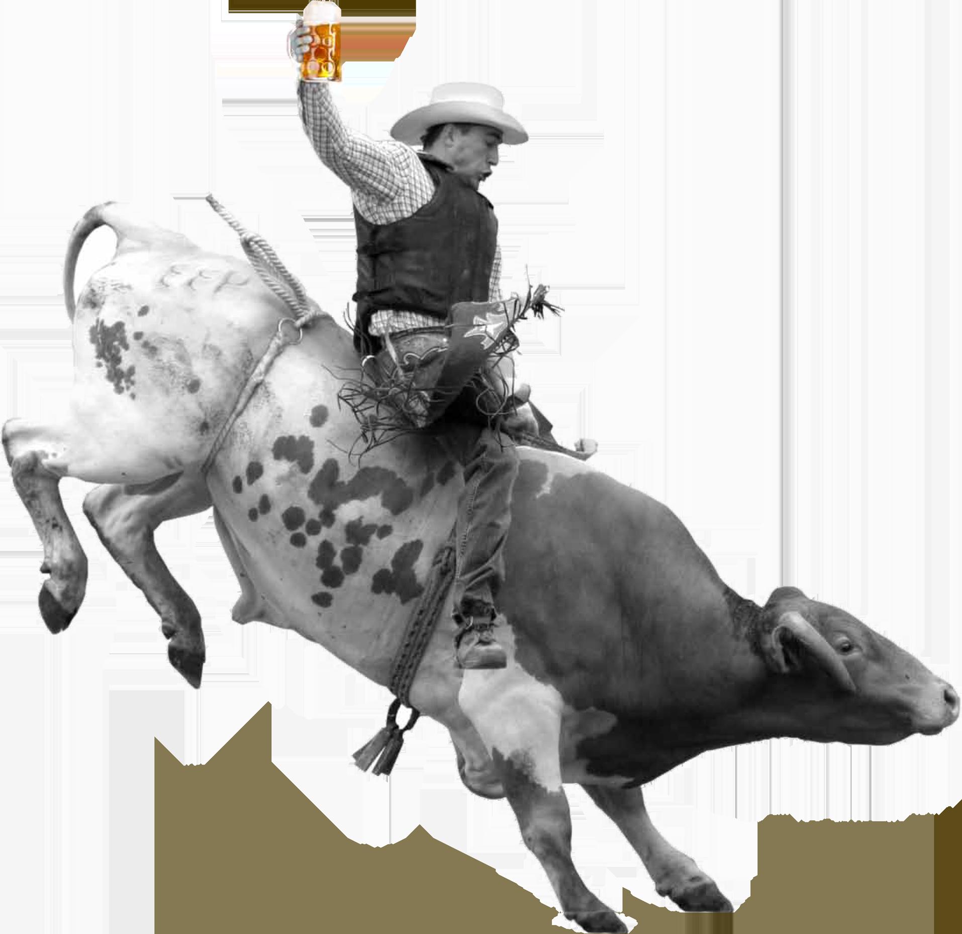 bull_rider_pic copy - Bucking Bull PNG