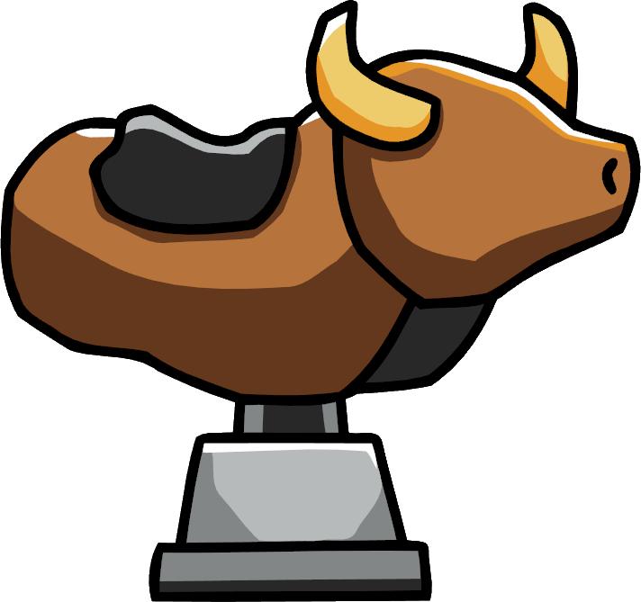 Mechanical Bull.png - Bucking Bull PNG
