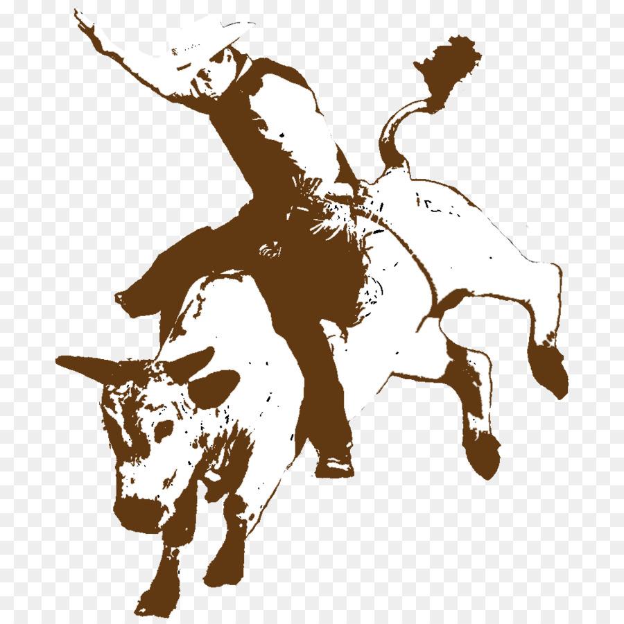 Rodeo Cowboy Bucking bull Bull riding - RODEO - Bucking Bull PNG