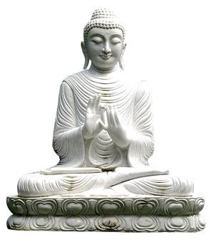 Buddha, Pray, Figure, Stone, Temple - Buddhism HD PNG