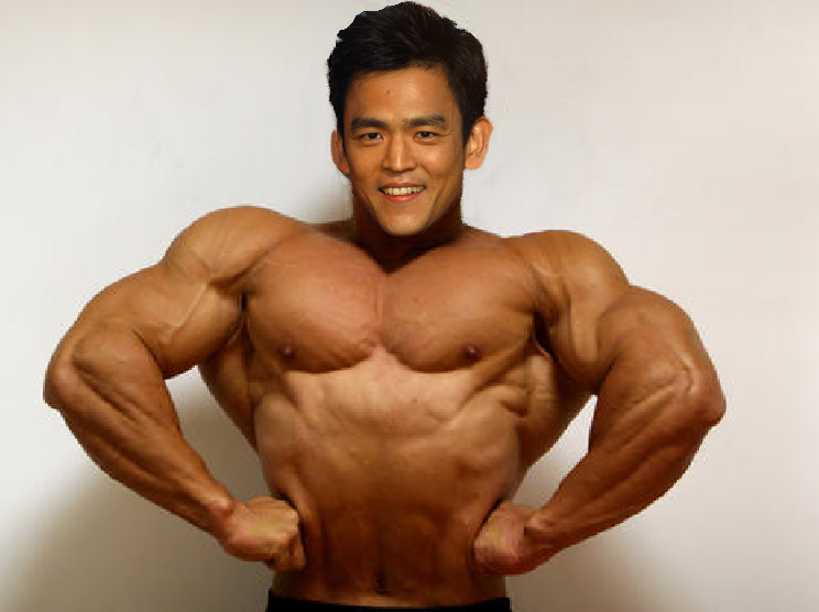 Buff John Cho by Shadowstalker55 PlusPng.com  - Buff Man PNG