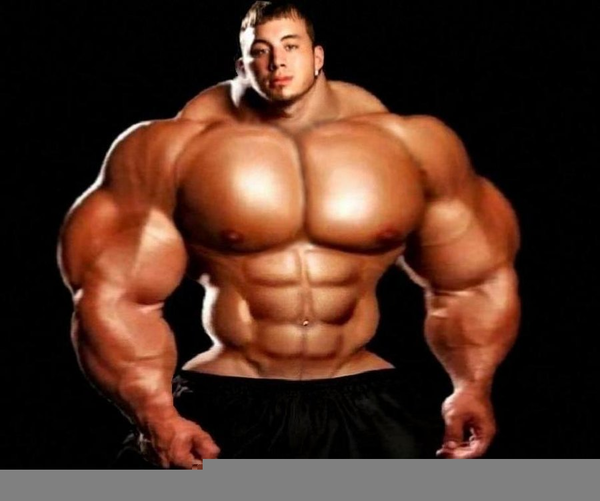 Download this image as: - Buff Man PNG