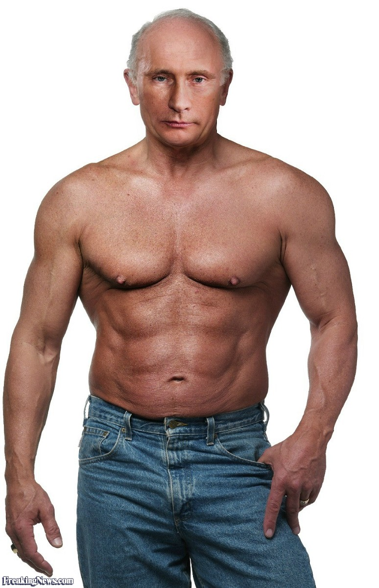 Funny Vladimir Putinu0027s Buff Body - Buff Man PNG