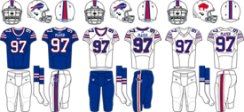 Sports uniform of the Buffalo Bills.png - Buffalo Bills PNG