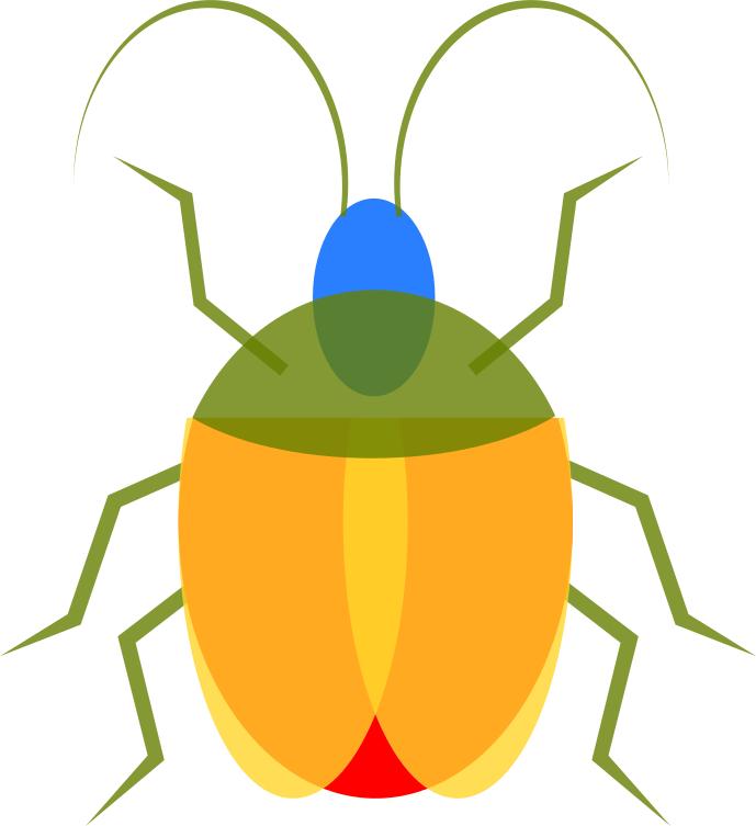 bug colorful - /animals/bugs/assorted/bold_graphics/bug_colorful.png.html - Bug PNG