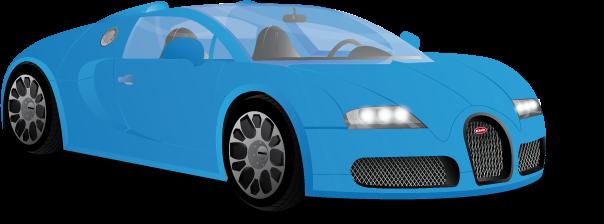 Bugatti veyron - Bugatti Vector PNG
