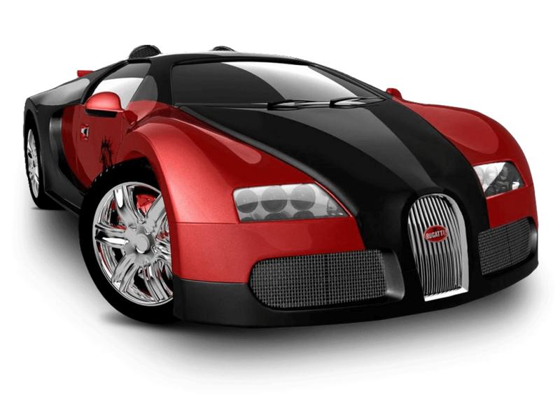 Bugatti Sports Car Poster