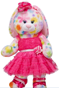 Build-A-Bear Pretty Petals Bunny Review   Giftcard #Giveaway! - Build A Bear PNG