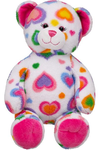 The U.S. Consumer Product Safety Commission and Health Canada, in  cooperation with Build-A-Bear, announced a voluntary recall of the Colorful  Hearts Teddy PlusPng.com  - Build A Bear PNG