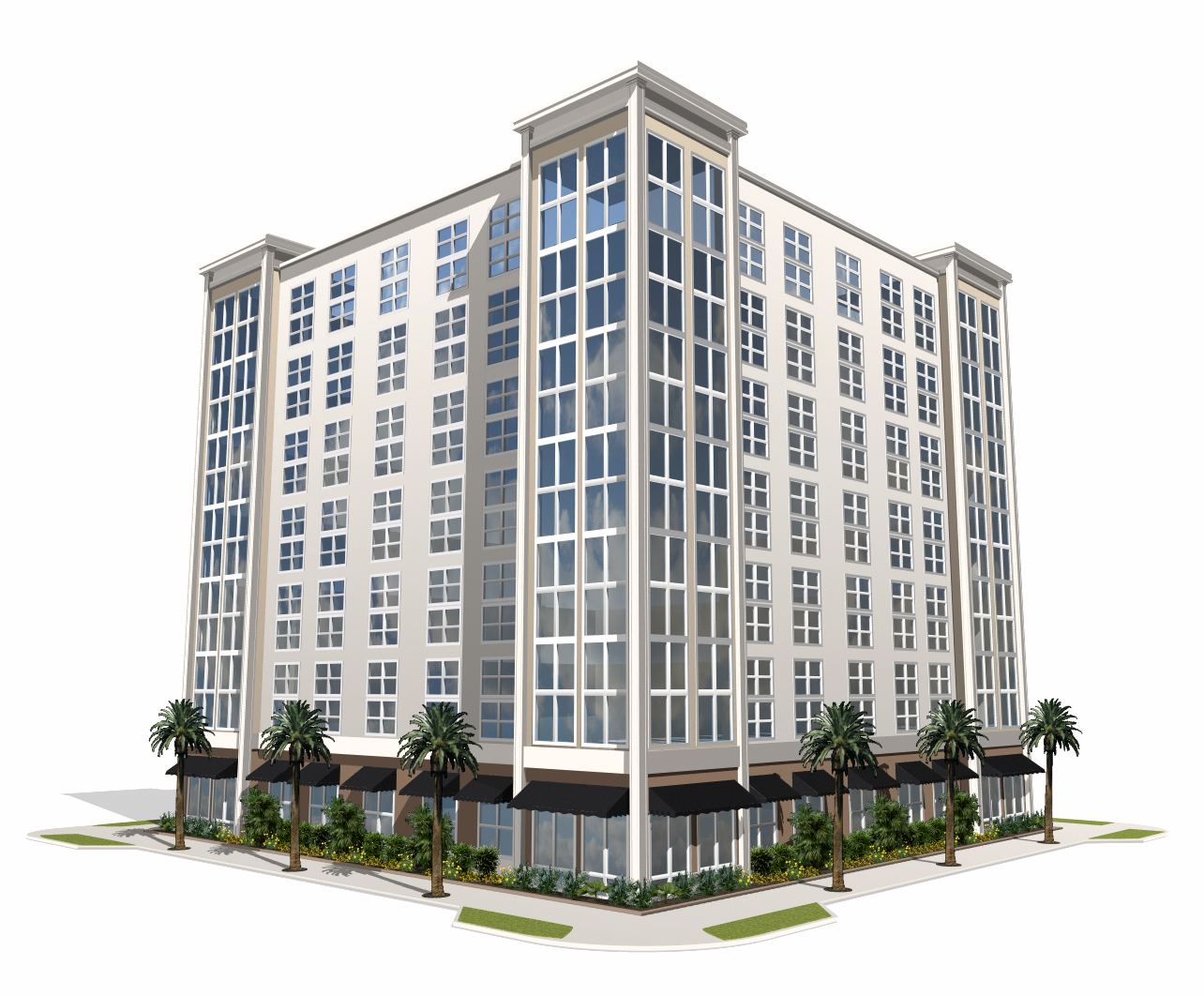 Office building clipart - Building HD PNG