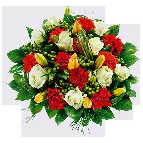 Międzynarodowy Dzień Osób Niepełnosprawnych - Bukiet Kwiatow PNG