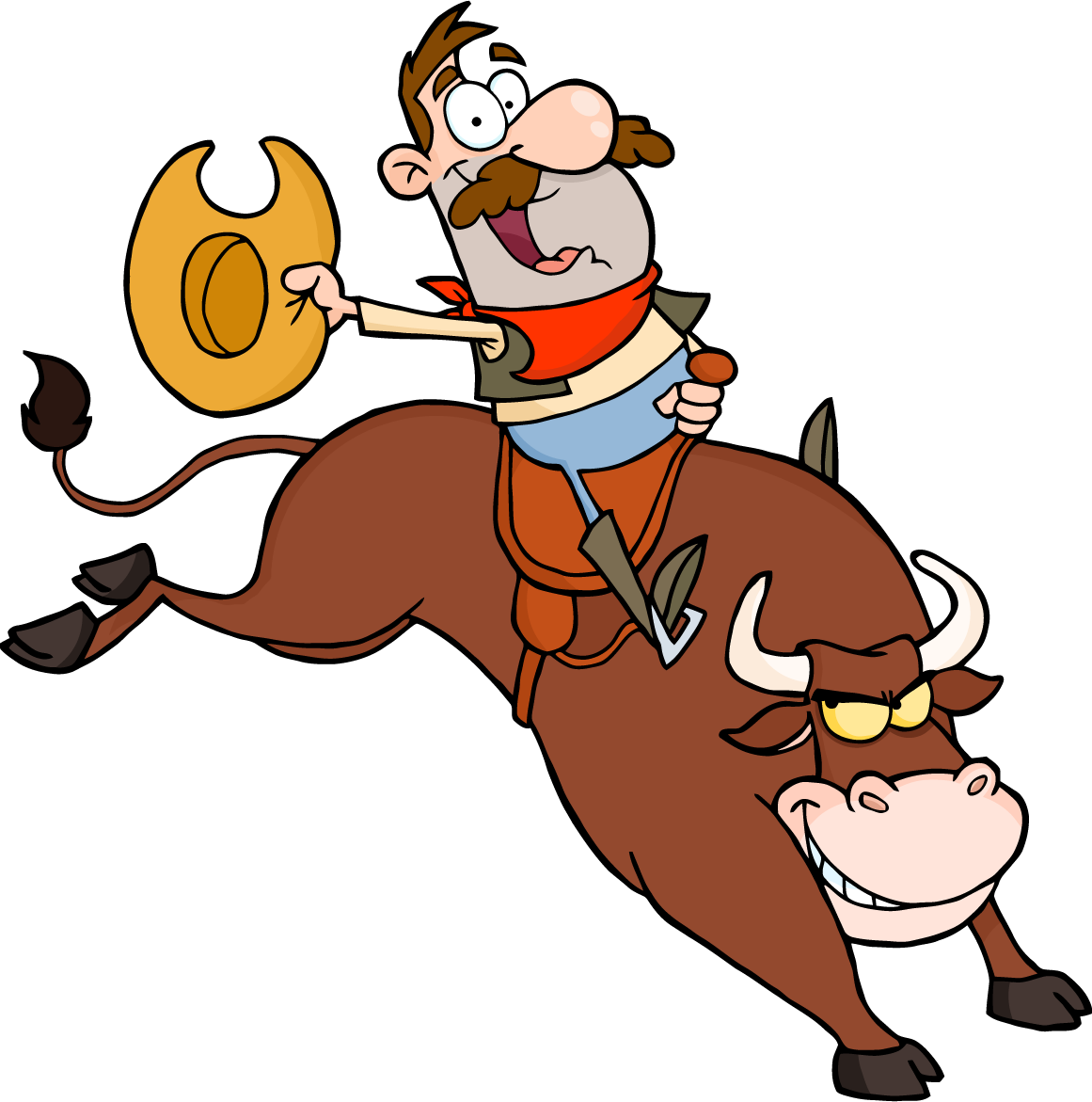Rodeo Clip Art Borders | Clipart library - Free Clipart Images - Rodeo PNG  HD Free - Bull Riding PNG HD