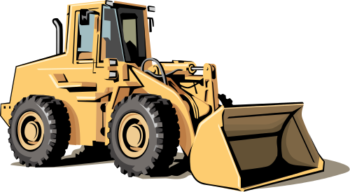 bulldozer clip art - /working/vehicles/bulldozer/bulldozer_clip_art.png.html - Bulldozer HD PNG