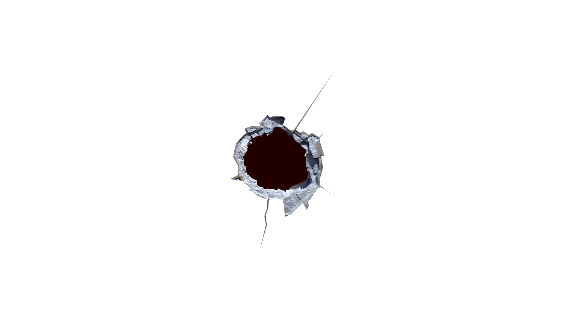 Bullet Hole Sharp - Bullet Hole PNG