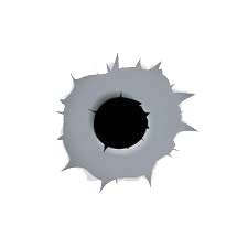 Bullet Shot Hole Png Image PNG Image - Bullet Hole PNG