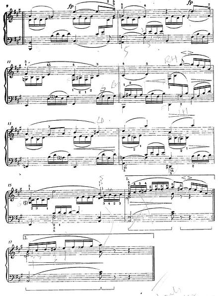 Extra Piece #1: Buntes Blatt No 1. From Bunte Blätter Op. 99 by Robert  Schumann - Bunte Blatter PNG
