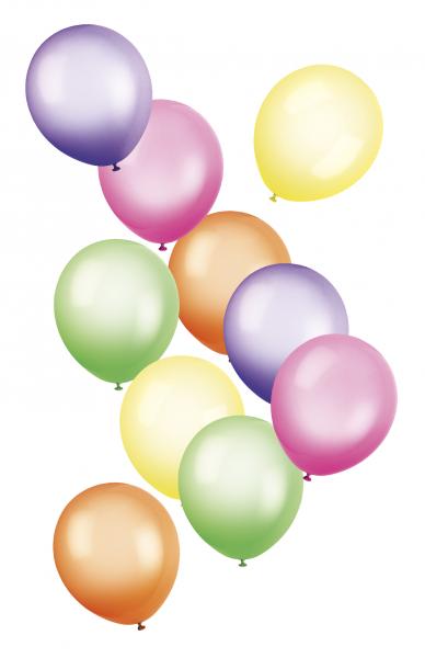 Bunte Luftballons PNG