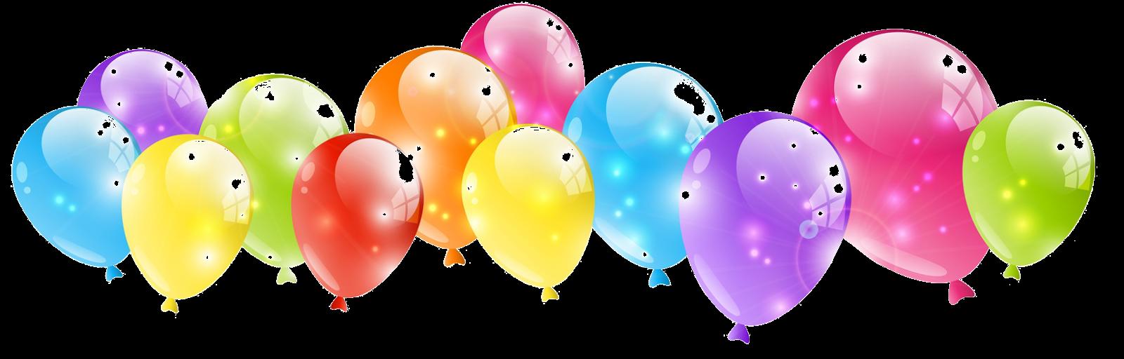 Bunte Luftballons PNG - 44213