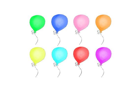Bunte Luftballons PNG - 44212
