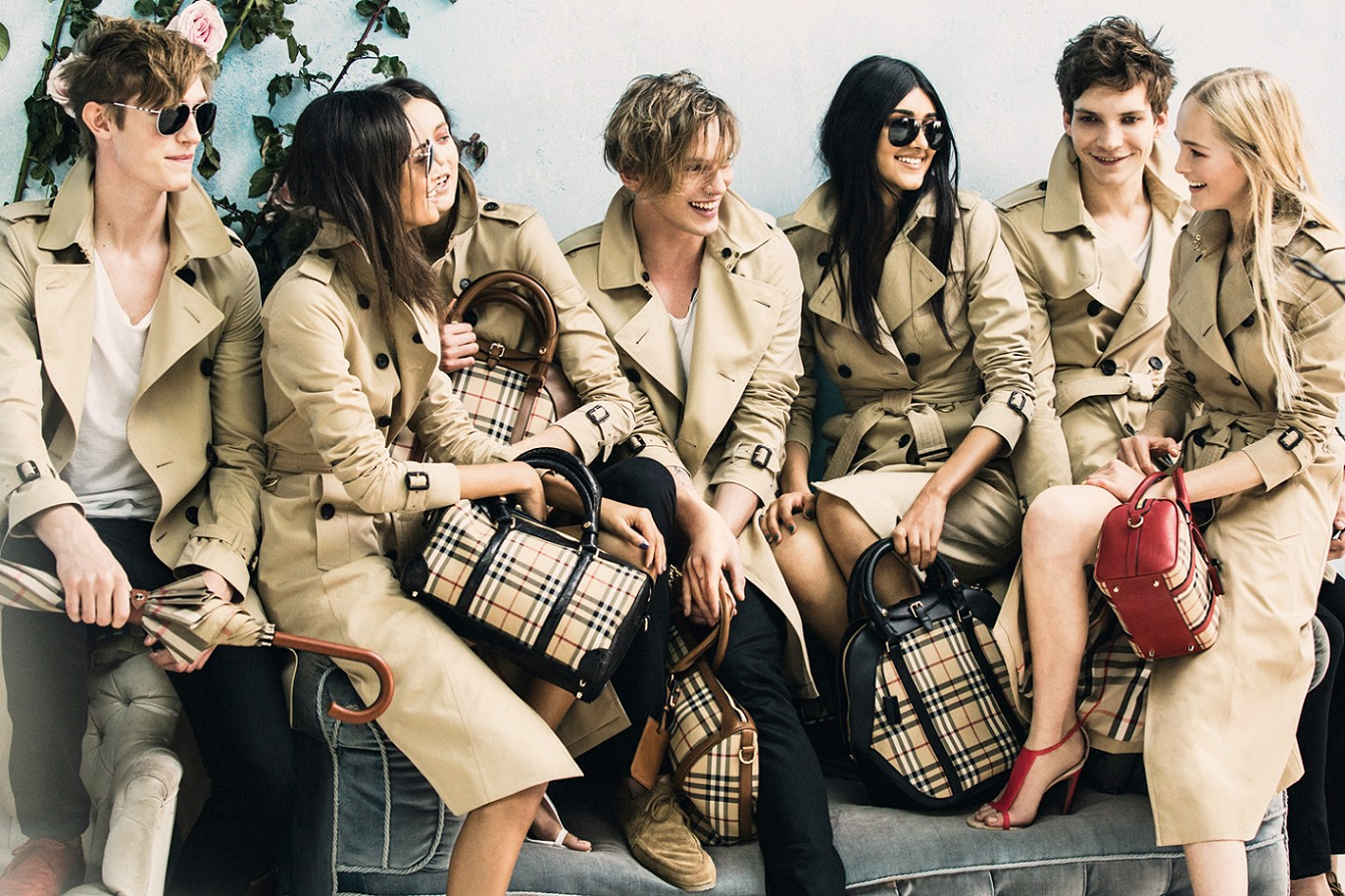 Burberry - Burberry Clothing PNG