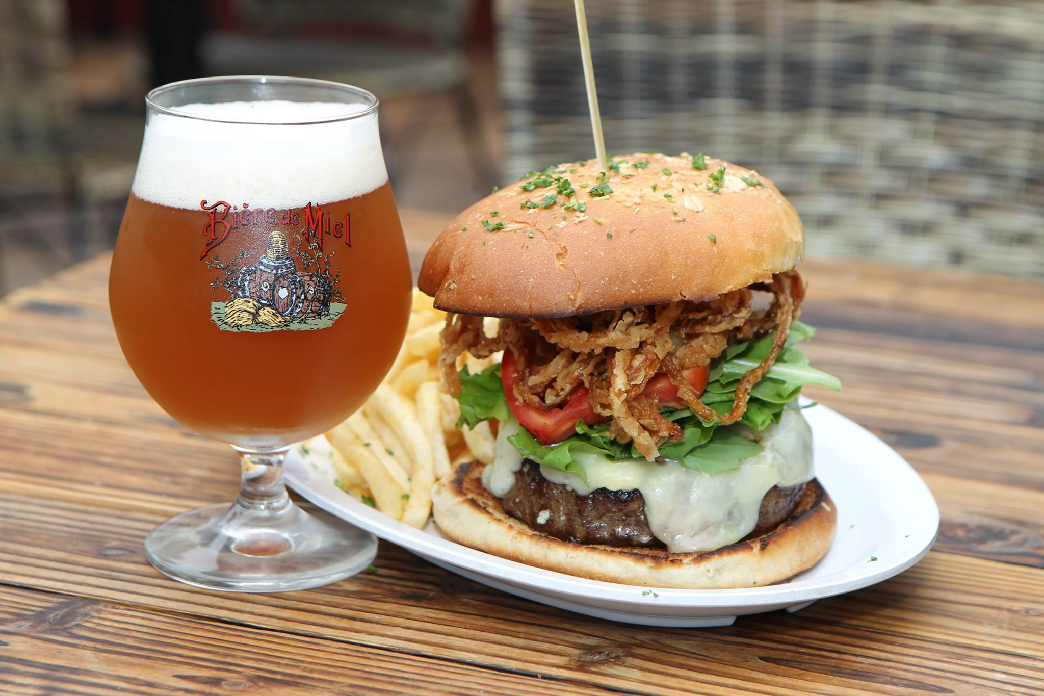 Burger And Beer PNG-PlusPNG.com-2048 - Burger And Beer PNG