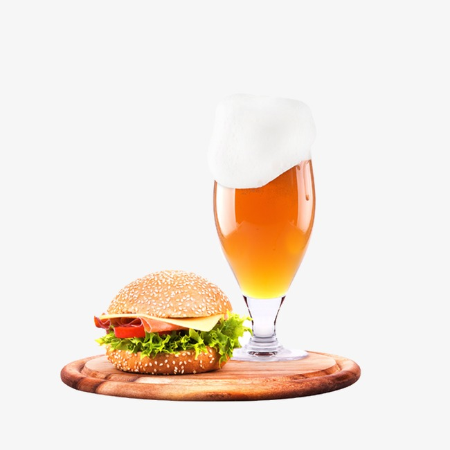 beer   burger, Hamburger, Beer, Beer Clipart PNG Image and Clipart - Burger And Beer PNG