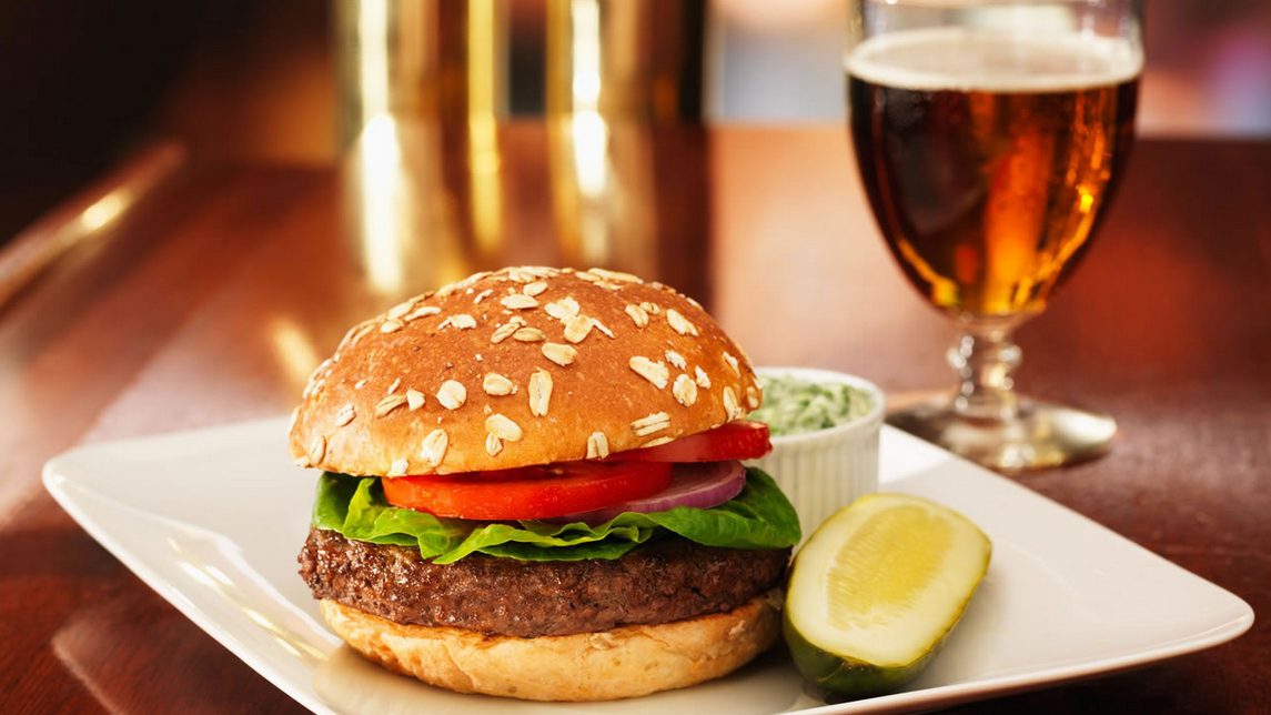 burger - Burger And Beer PNG
