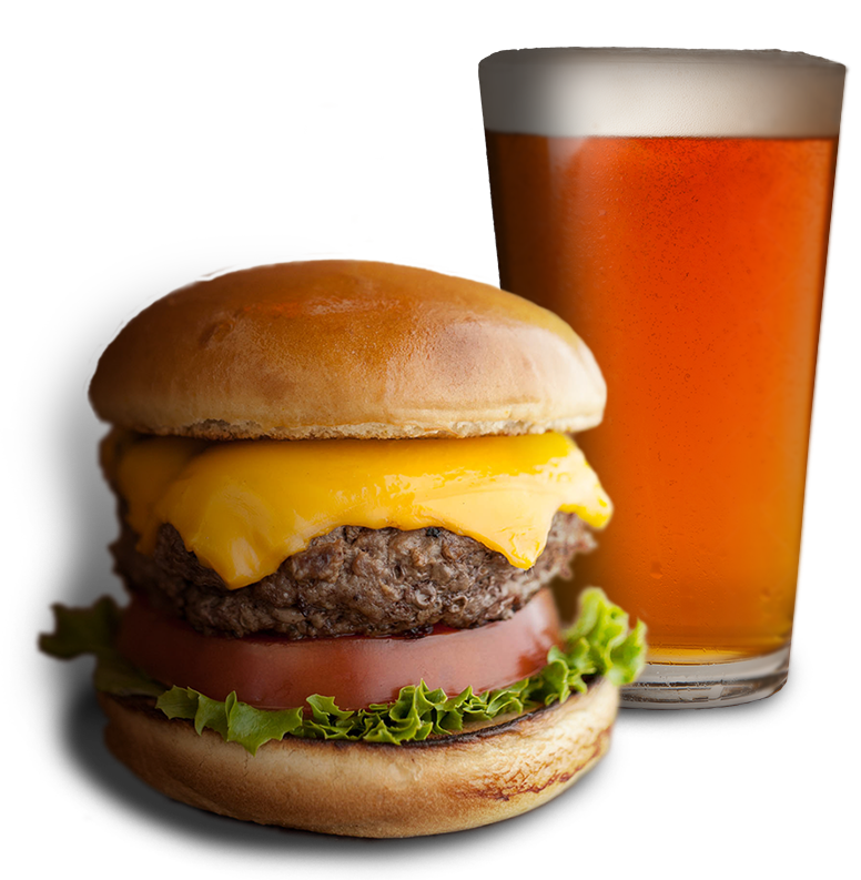 Lager Heads burgers and beer - Burger And Beer PNG