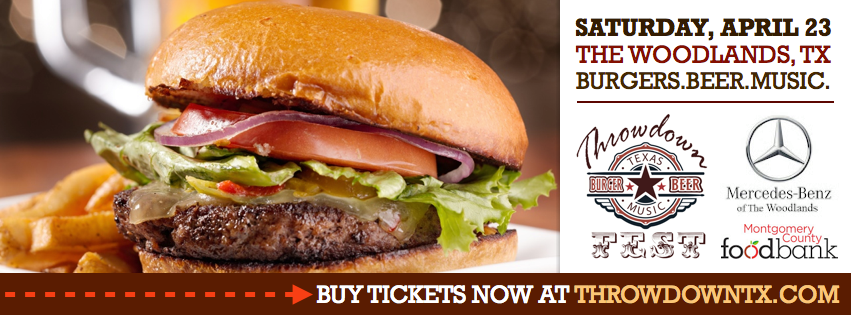 Throwdown Texas Burger and Beer Fest - Burger And Beer PNG