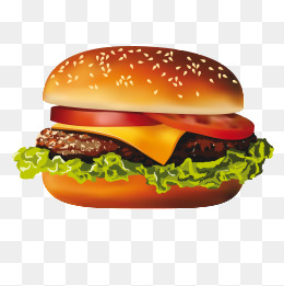 A Burger, Hd Hamburg, Creative Hamburg, Creative Food PNG Image - Burger HD PNG