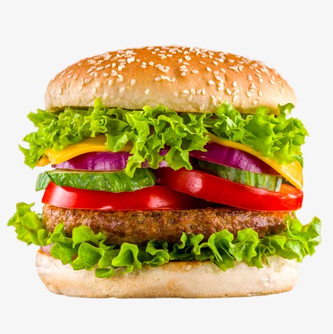 Delicious Beef Burger, Delicious Beef Burger, Tomato, Bread PNG Image - Burger HD PNG