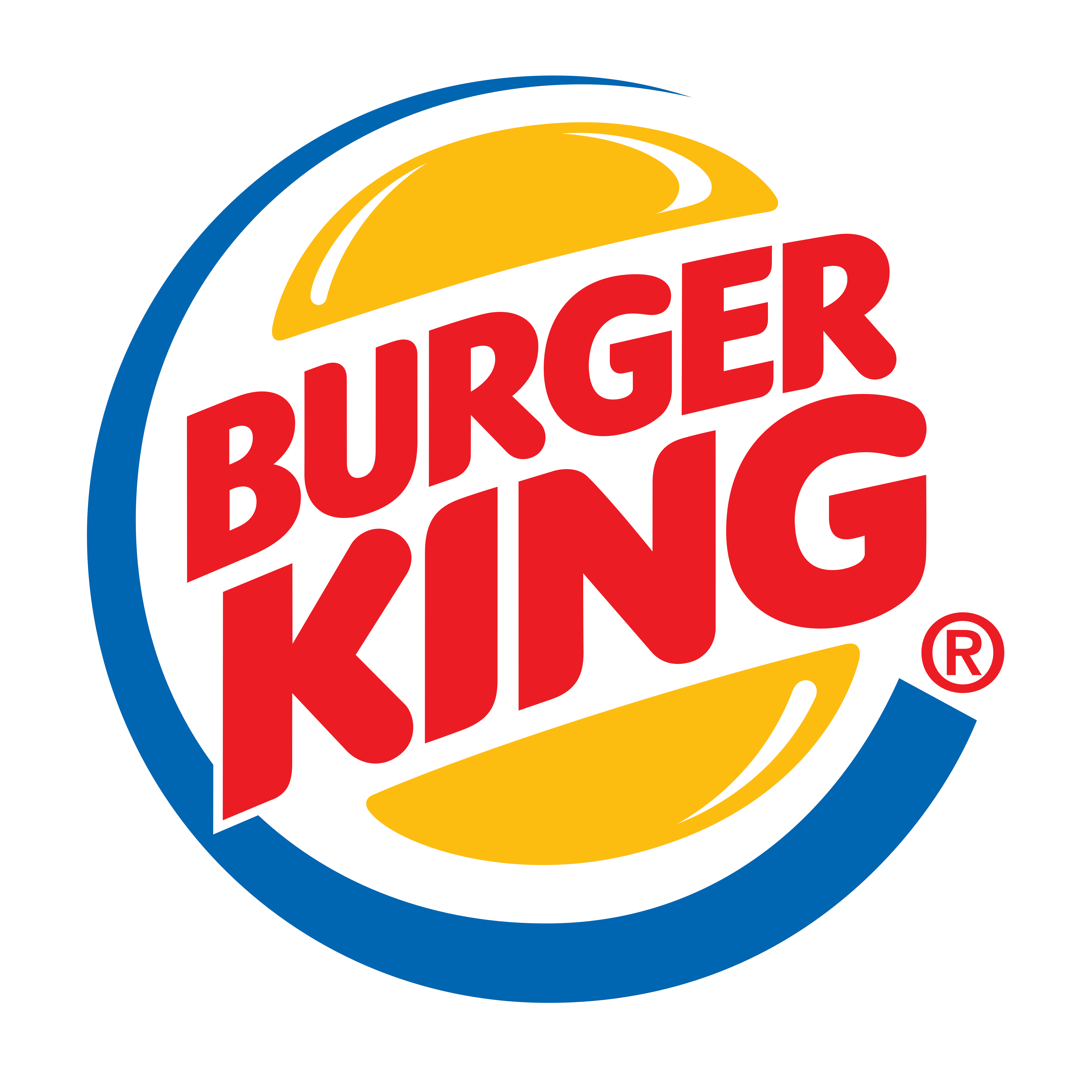 Burger King logo, logotype. All logos, pictures and images of the brands - Burger King Logo PNG