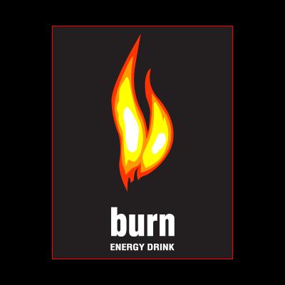Burn Logo Vector PNG