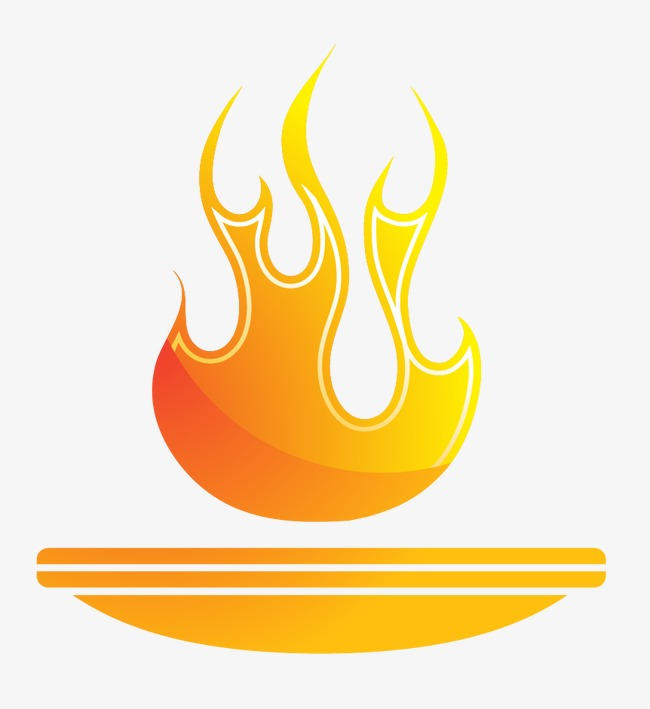 burning torch vector material Free PNG and Vector - Burn Logo Vector PNG