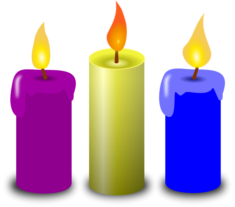 BirtHDay Candles PNG Image - Burning Candle PNG HD
