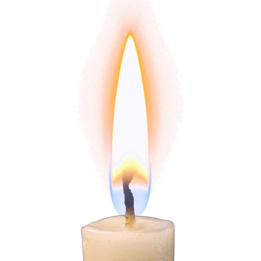 Candle Flame PNG HD-PlusPNG pluspng.com-512 - Candle Flame PNG HD - Burning Candle PNG HD