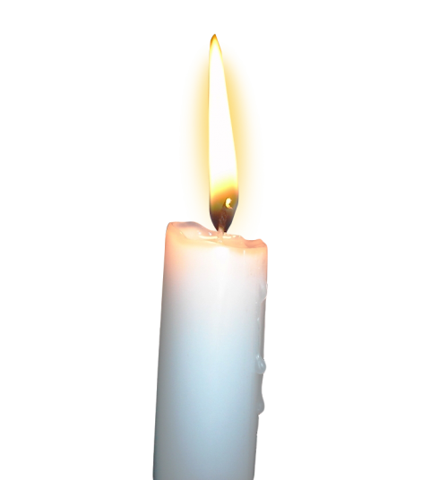 Burning Candle PNG HD
