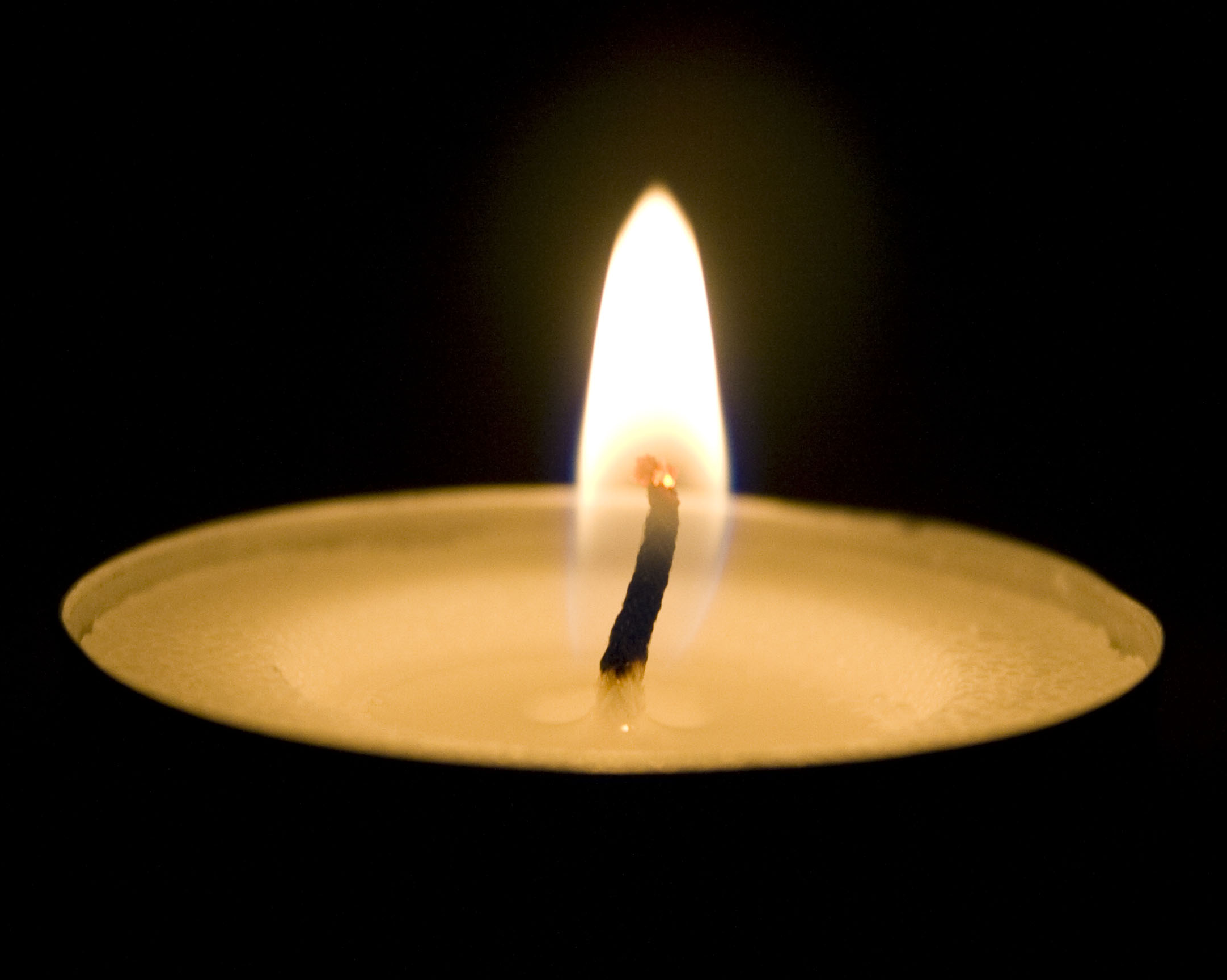 I Also Took Stills To Get A Closer Look At The Transparency Of Flame And The - Burning Candle PNG HD