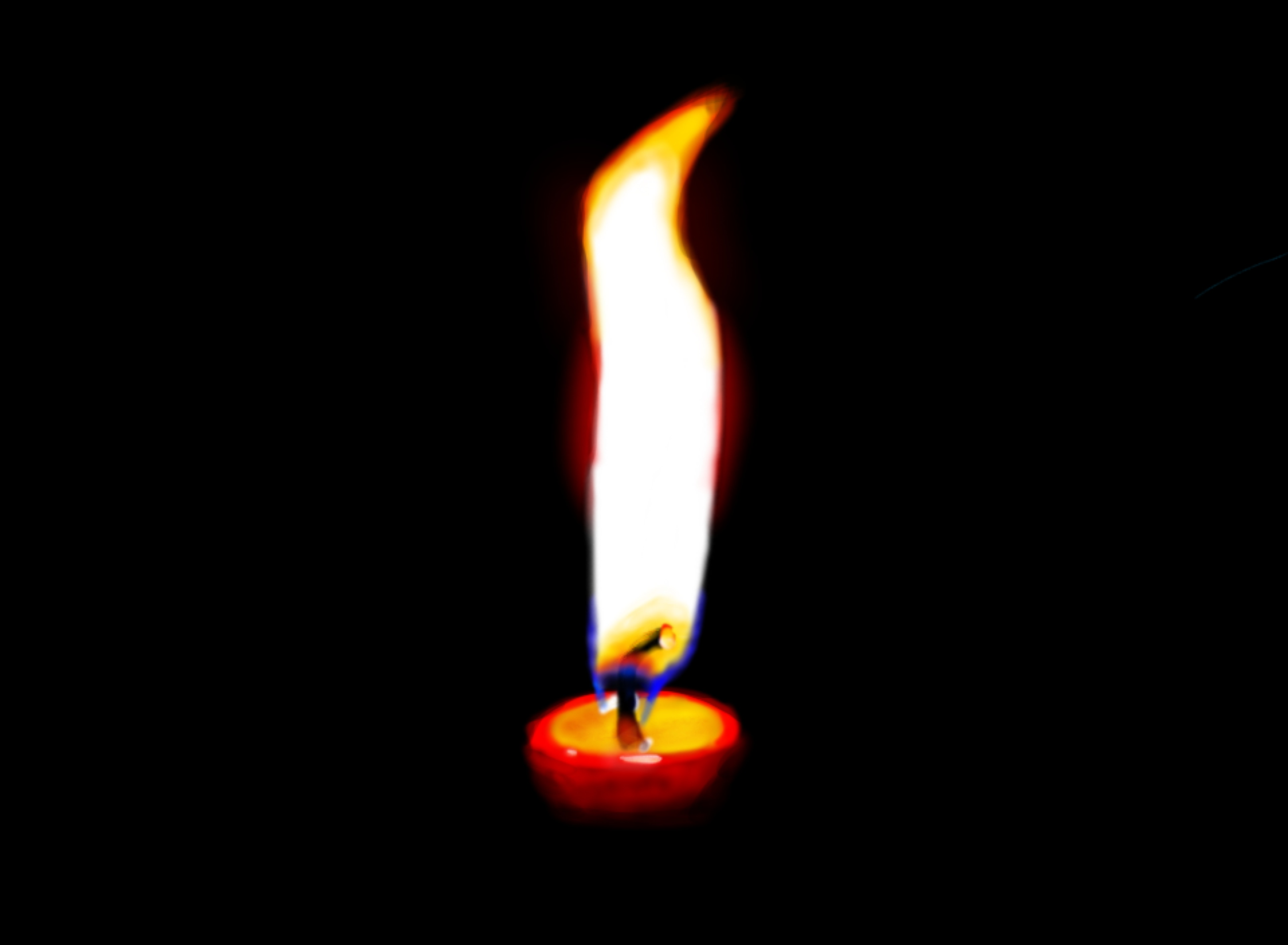Pin Drawn Fire Candle Flame #10 - Candle Flame PNG HD - Burning Candle PNG HD