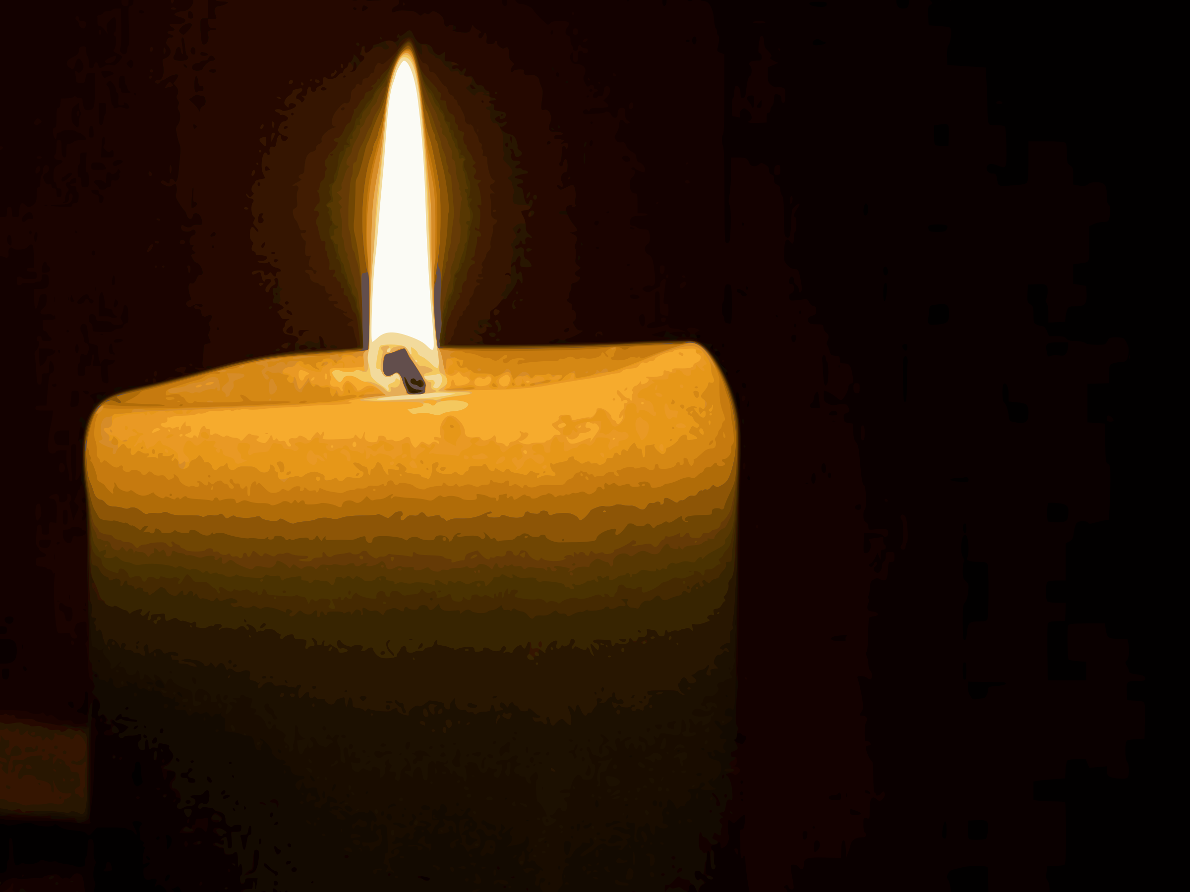 This Free Icons Png Design Of Candle-burning PlusPng.com  - Burning Candle PNG HD