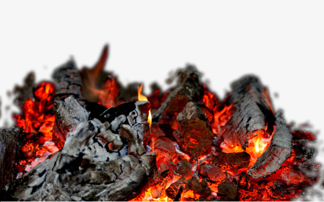 Burning Charcoal Png Free Material, Combustion, Charcoal, Red PNG Image And  Clipart - Burning Coal PNG