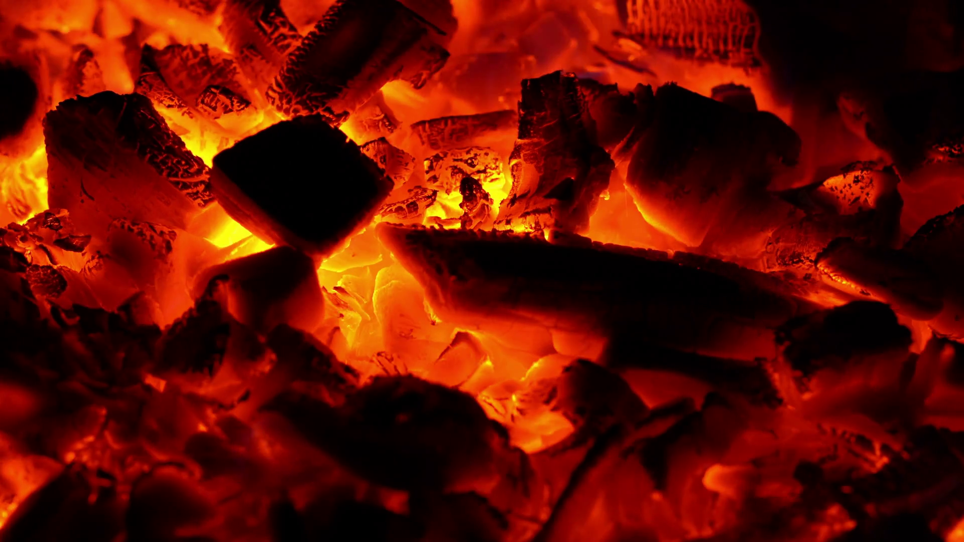 Burning Coal At The Barbecue, Closeup. Bonfire On Picnic Stock Video  Footage - VideoBlocks - Burning Coal PNG