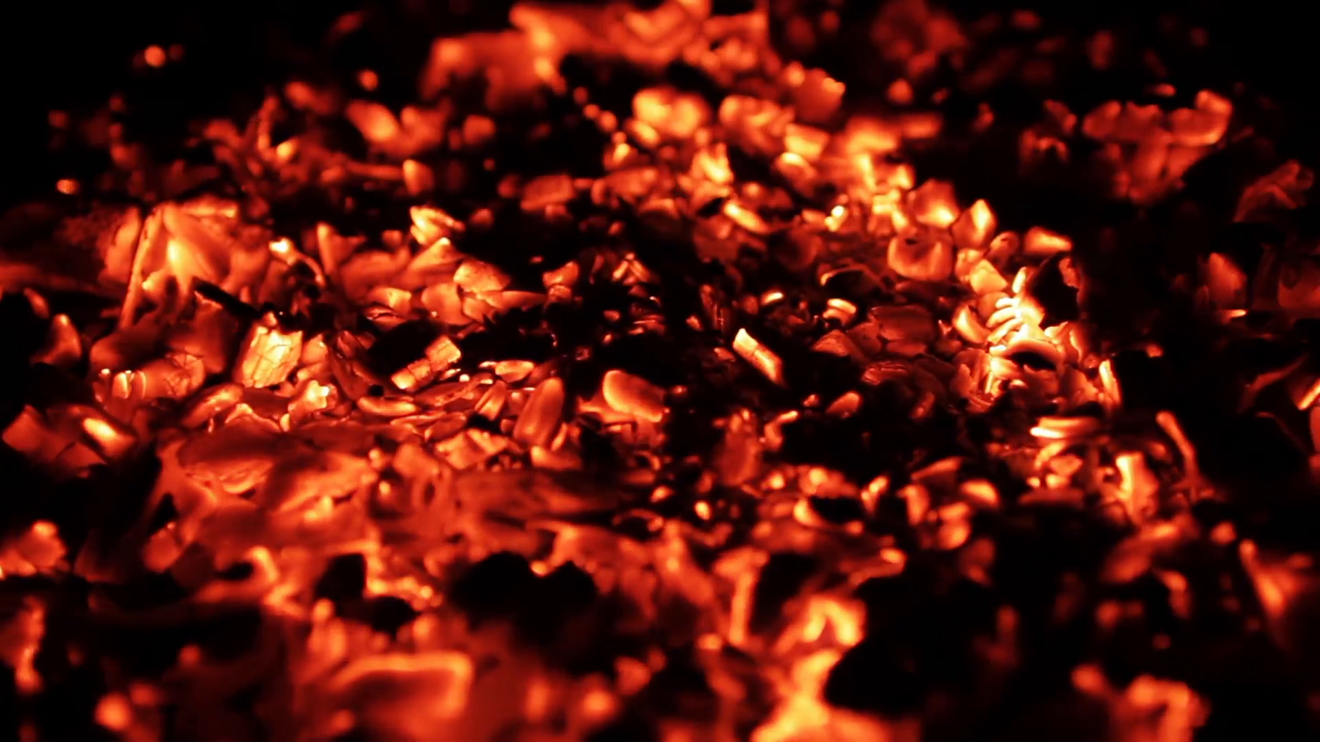 Burning Coal, Close Up Of Red Hot Coals Glowed In Bonfire Stock Video  Footage - VideoBlocks - Burning Coal PNG