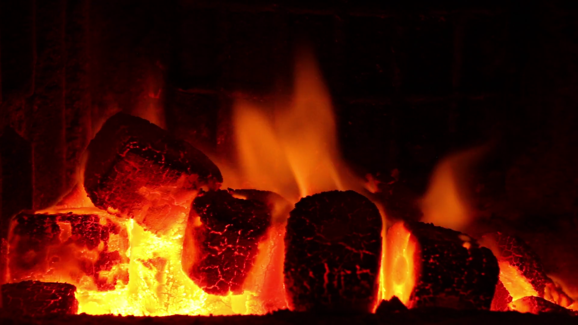Burning Coal In Furnace. Heating And Power Generation Theme. Industry And  Co2 Emissions. Stock Video Footage - VideoBlocks - Burning Coal PNG