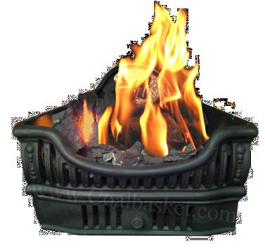 Coal Baskets - Burning Coal PNG